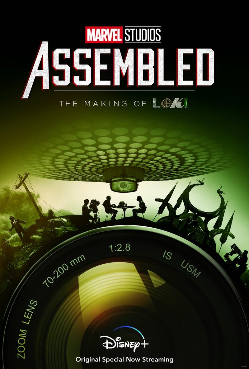 Loki Assembled Documentary Poster Disney+