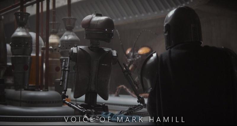 Mark Hamill Droid Mandalorian