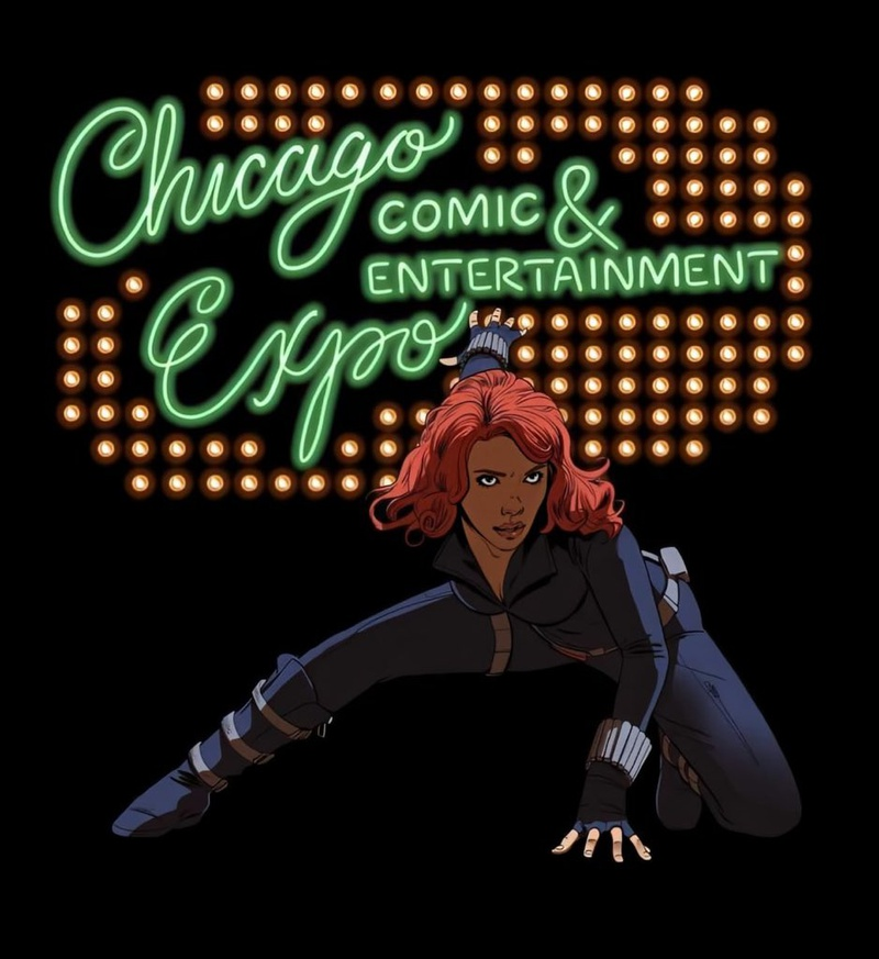 Chicago Comic & Entertainment Expo and Black Widow