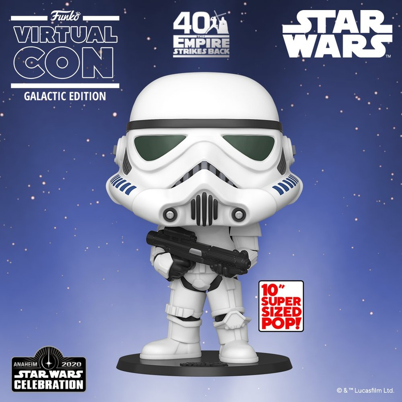 Stormtrooper Funko Pop for Star Wars Celebration