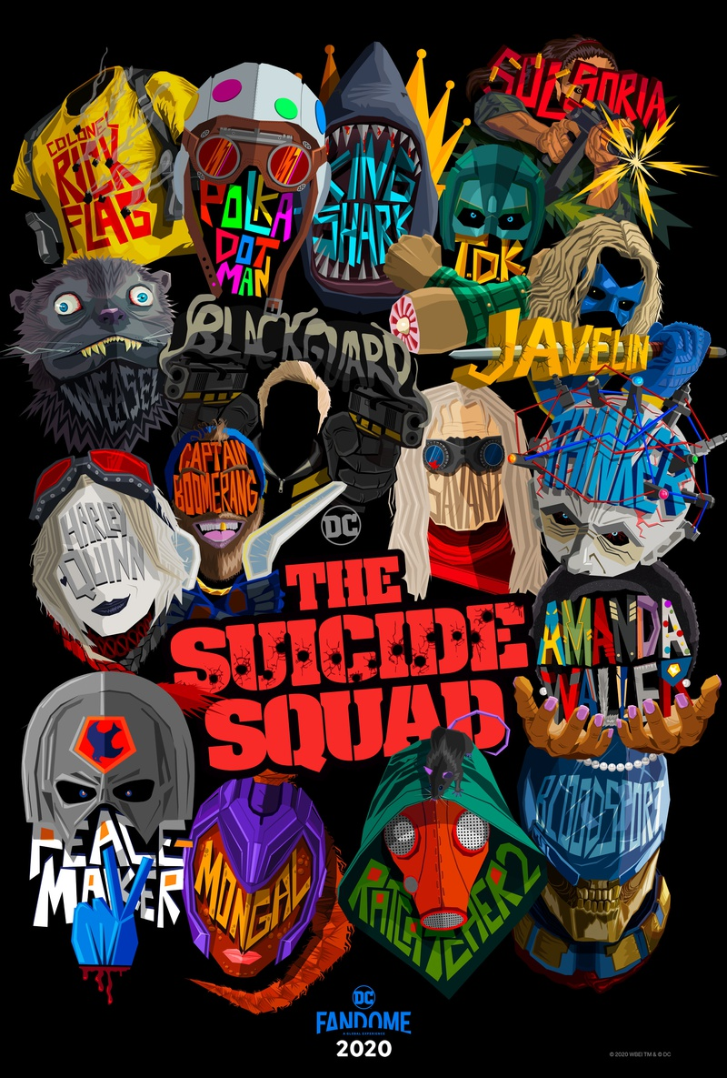The Suicide Squad Icon Poster