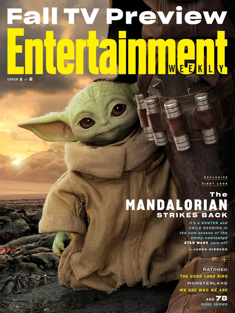 Entertainment Weekly The Mandalorian Season 2