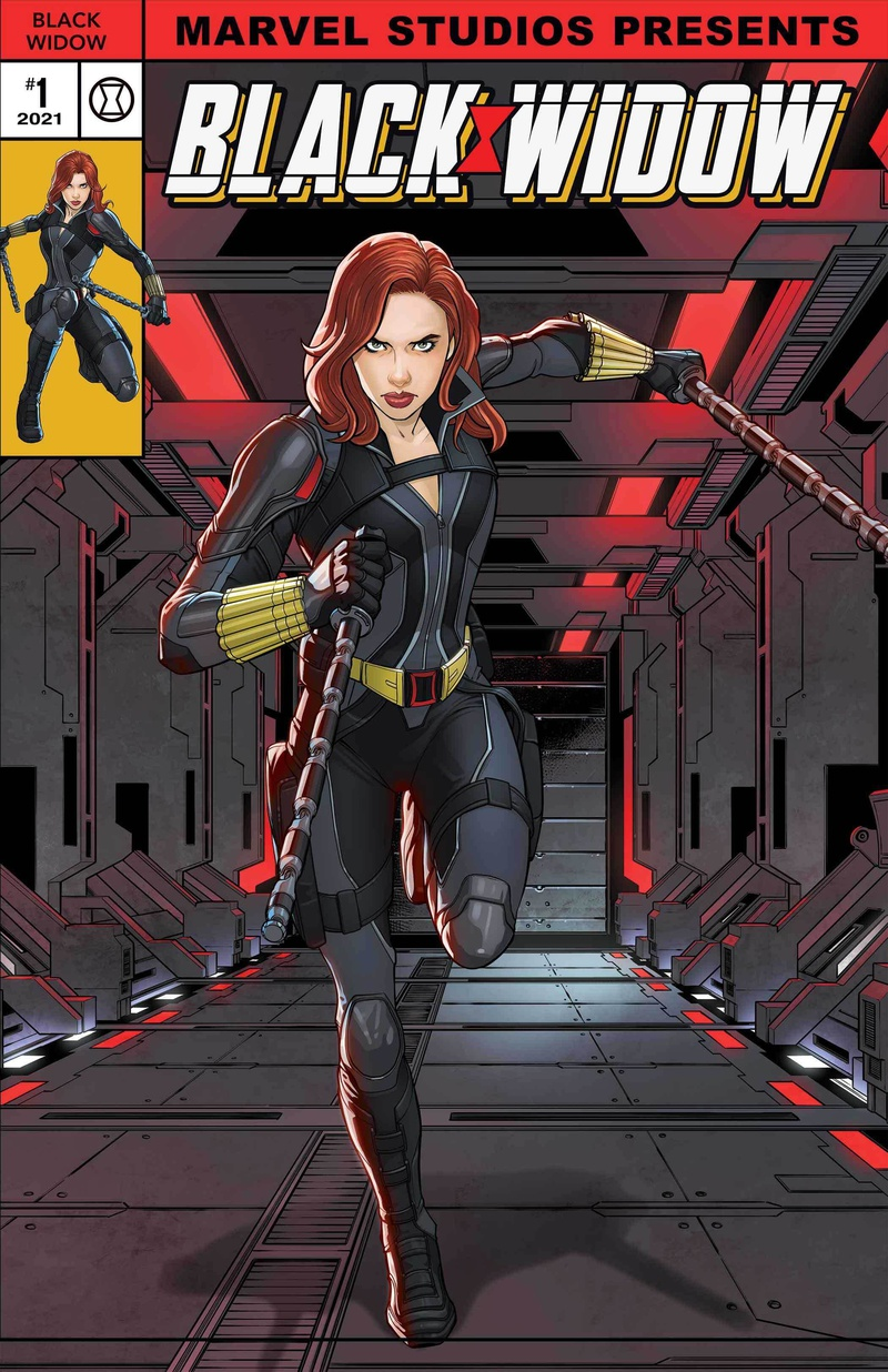Black Widow Variant Cover 3