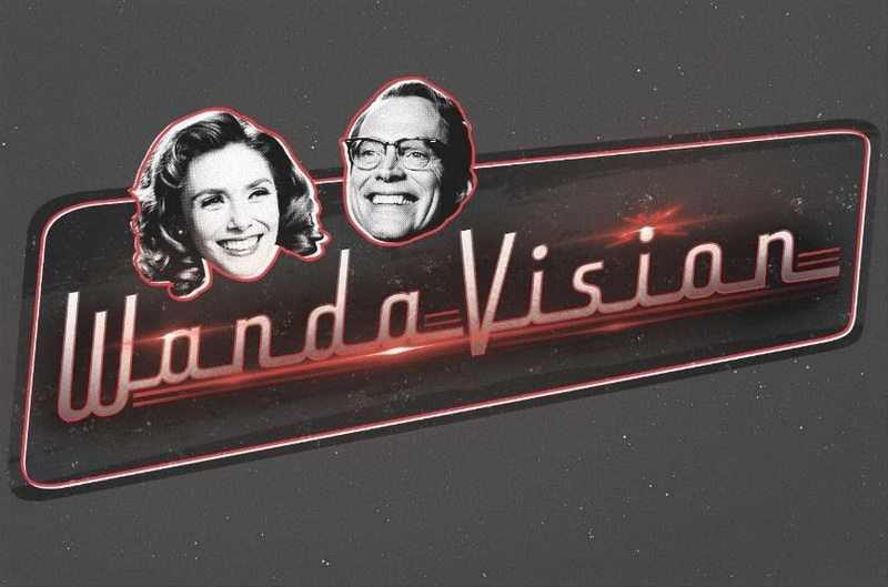WandaVision Promotional Material Black & White Television