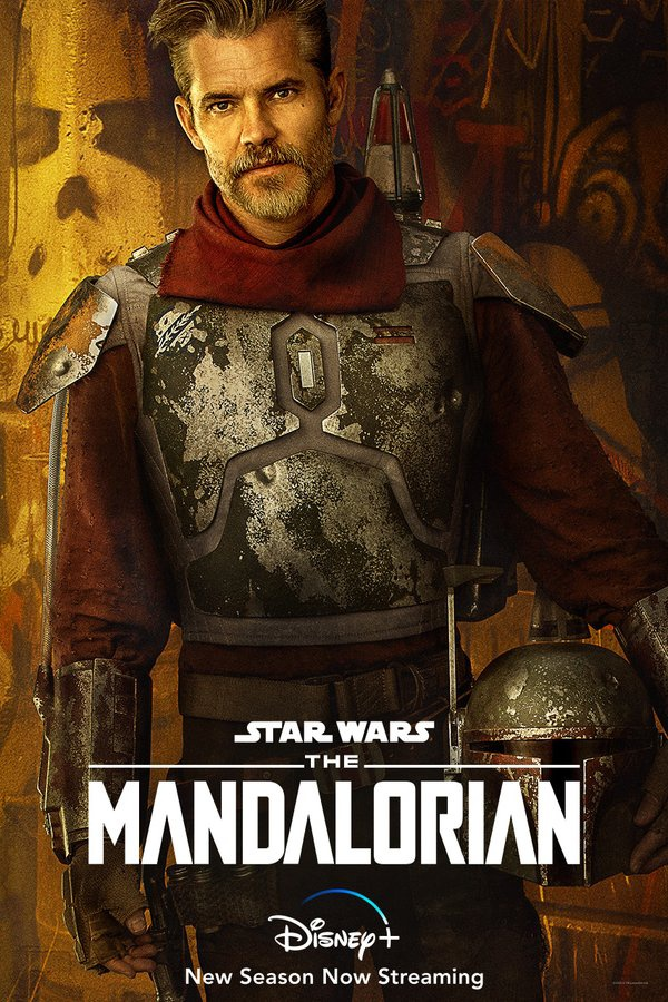 Cobb Vanth character poster from The Mandalorian