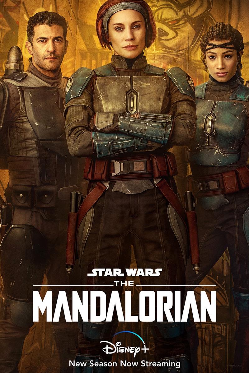 Bo-Katan Character Poster The Mandalorian
