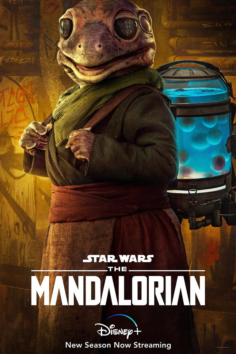 Frog Lady from The Mandalorian Season Two