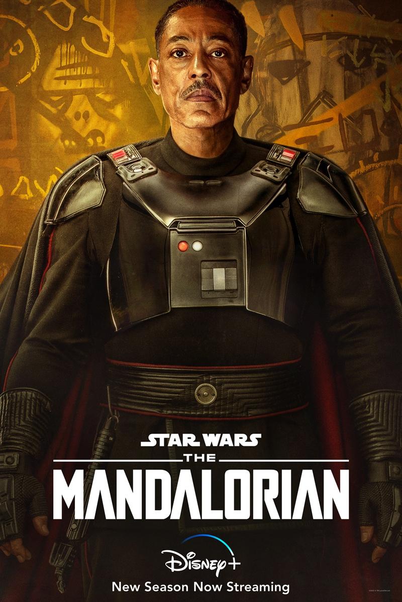 Moff Gideon Mandalorian Season 2 Poster