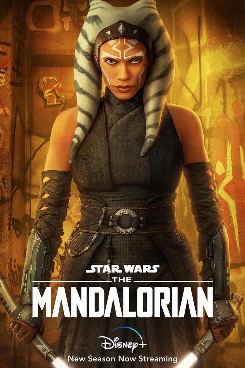 Ahsoka The Mandalorian Poster