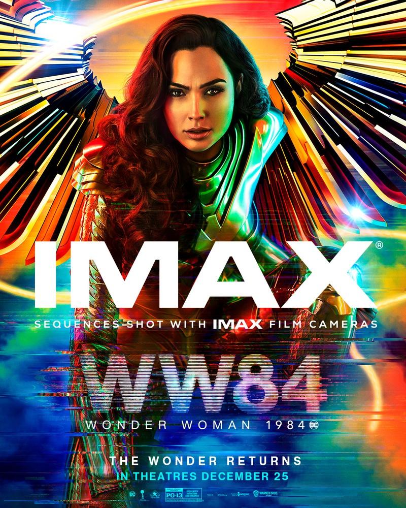 Wonder Woman 1984 IMAX poster