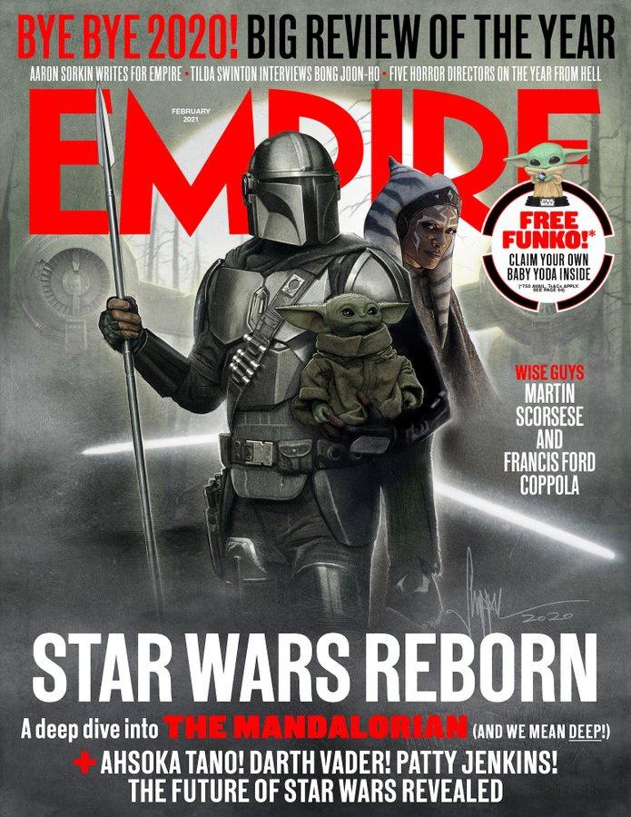 The Mandalorian Cover Art