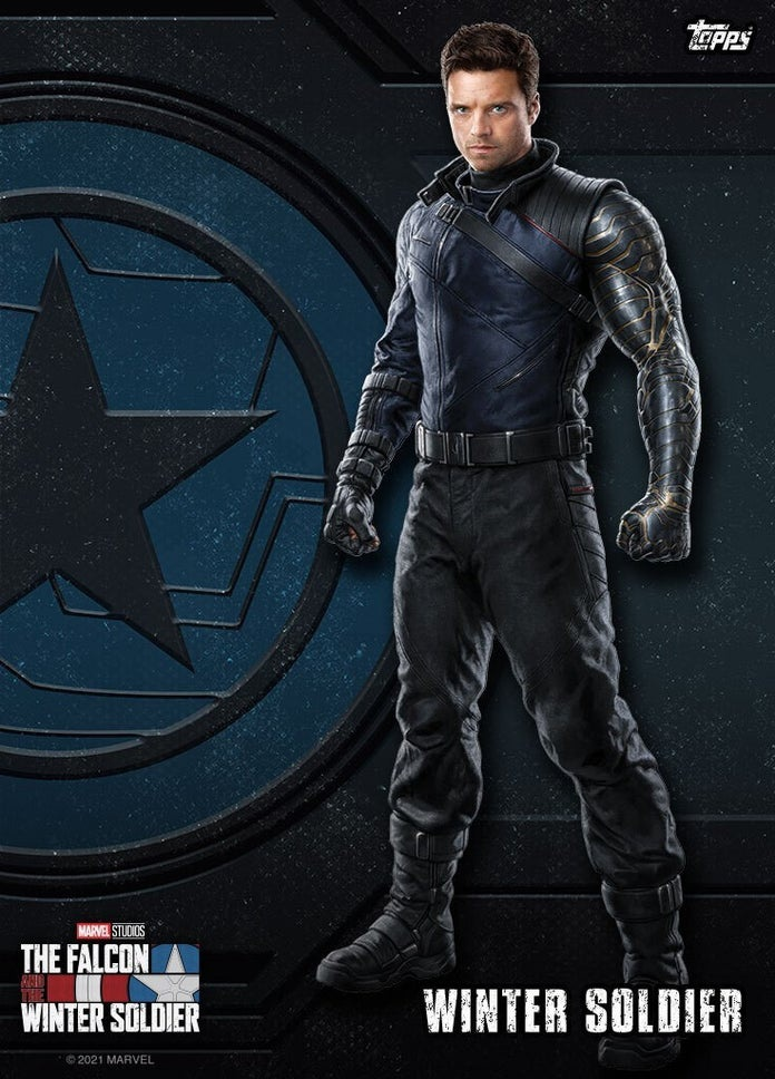 The Falcon and the Winter Soldier from Topps