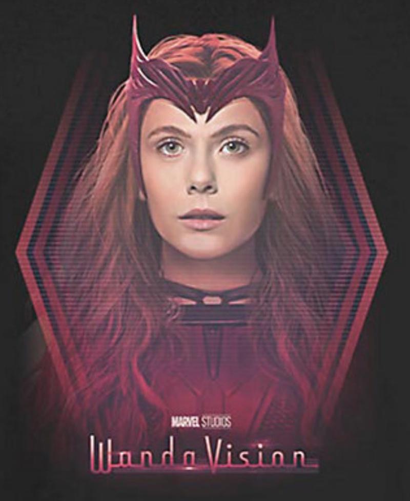 WandaVision Scarlet Witch Costume 3