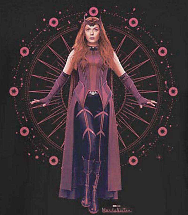 WandaVision Scarlet Witch Costume 4