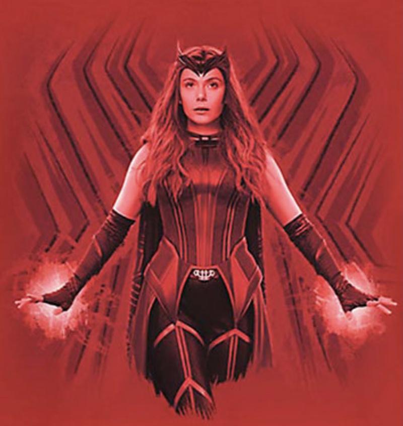 WandaVision Scarlet Witch Costume 2
