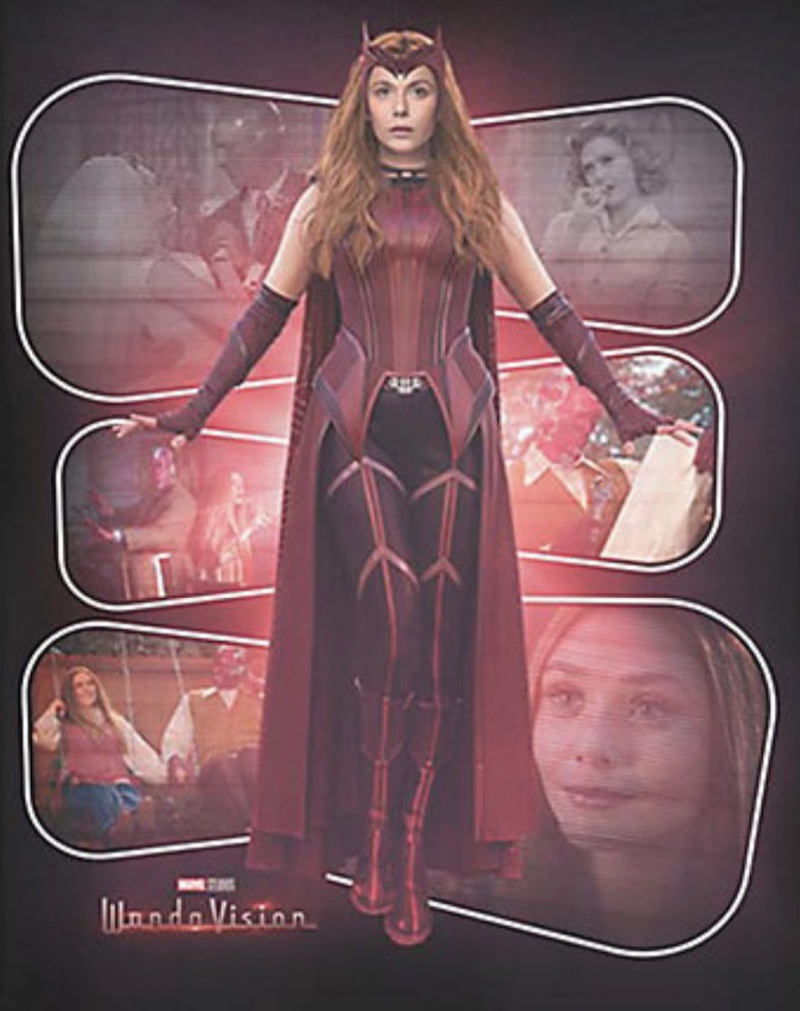 WandaVision Scarlet Witch Costume 1