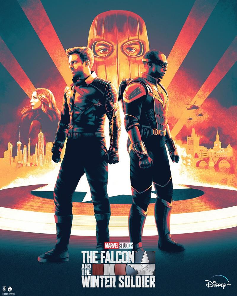 The Falcon and the Winter Soldier, Sam Wilson, Bucky Barnes