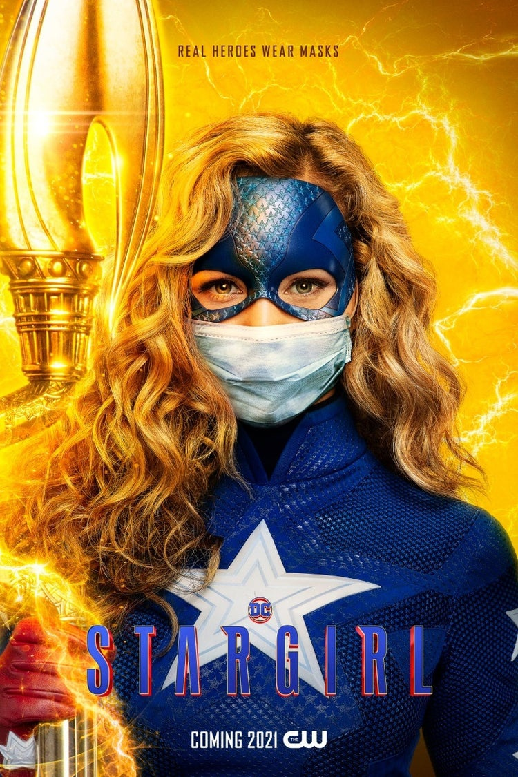 Stargirl with a mask