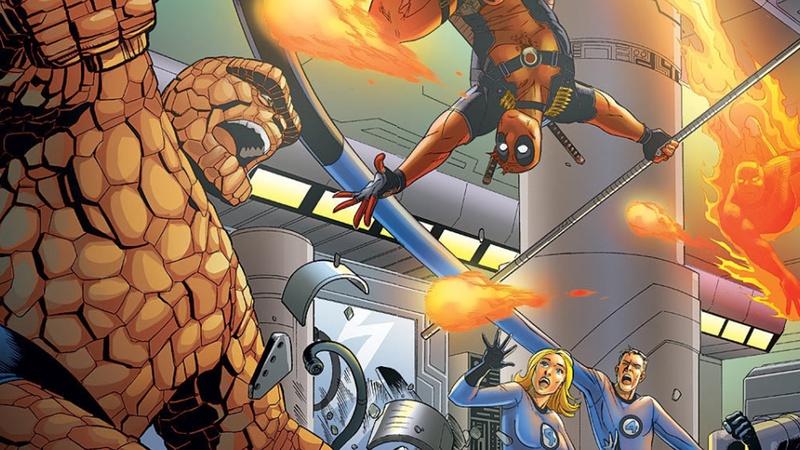 Deadpool, Fantastic Four