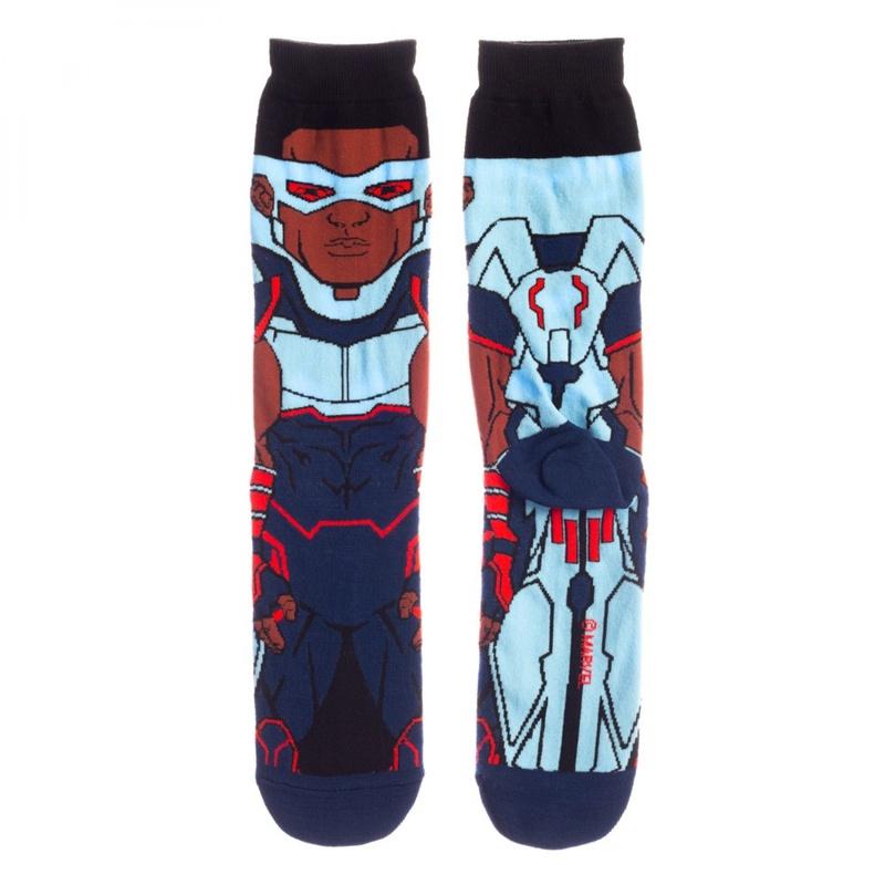 Falcon Captain America Costume Sock