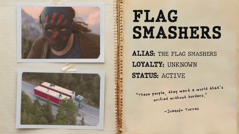 Karli, The Flag Smashers