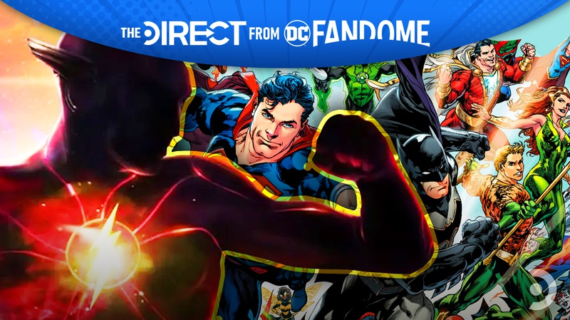 Flash and DC characters