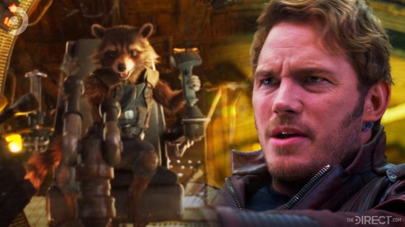 Rocket/Star-Lord in Guardians of the Galaxy Vol. 2