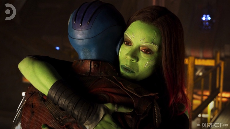 Gamora/Nebula Guardians of the Galaxy Vol. 2