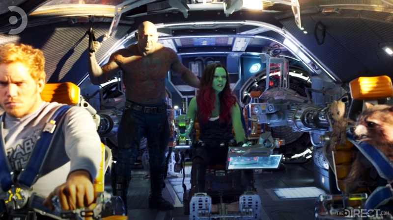 Gamora talking in Guardians of the Galaxy Vol. 2