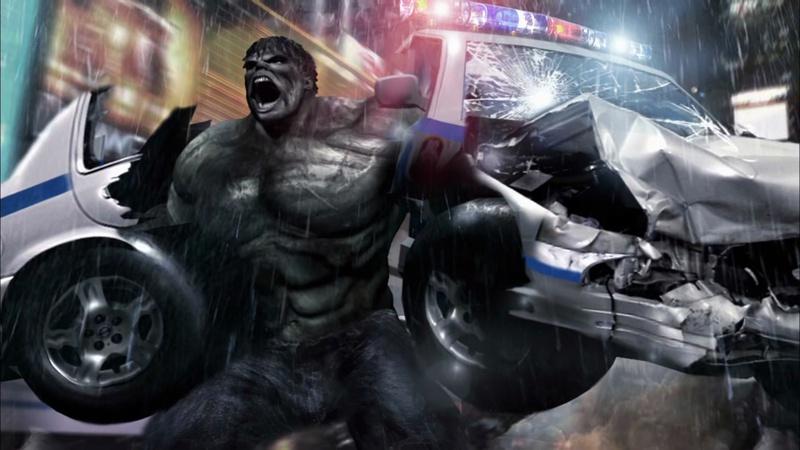 The Gray Hulk Concept Art for The Incredible Hulk