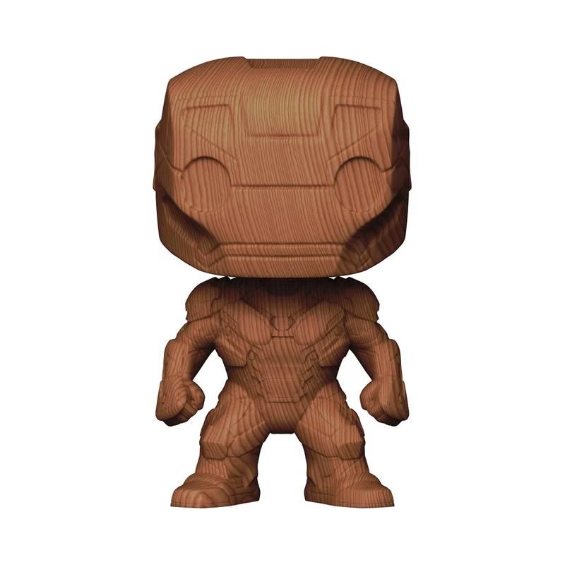 Iron Man Wood Funko Pop
