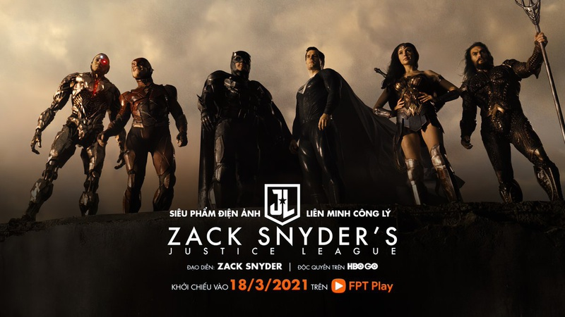 Justice League HBO Vietnam Zack Snyder