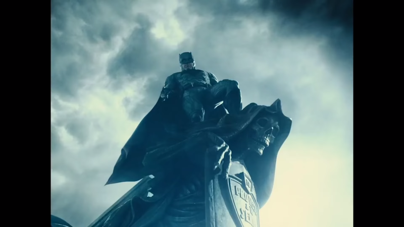 To Protect & To Serve, Batman, Snyder Cut