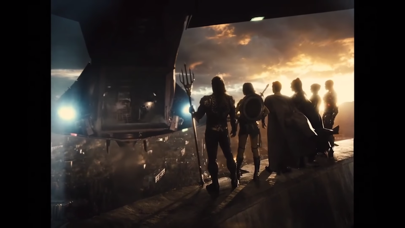The Justice League, in the Snyder Cut