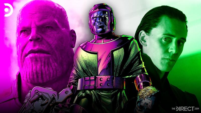 Thanos, Kang, Loki