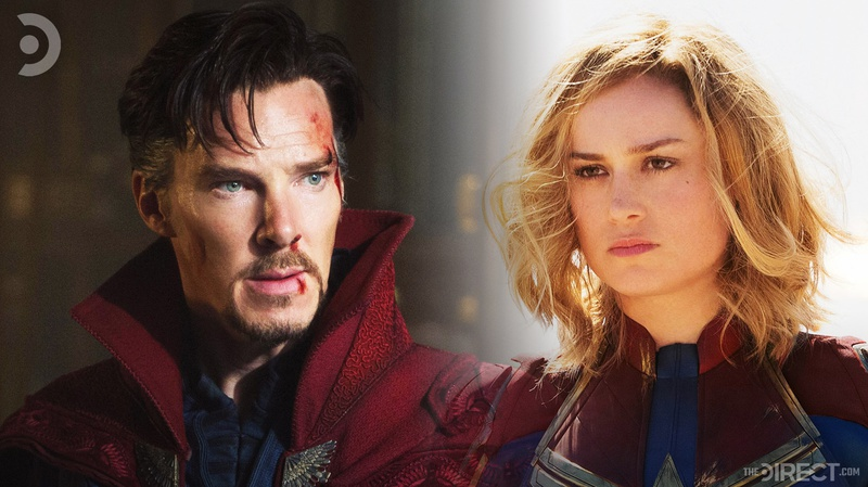Doctor Strange and Captain Marvel