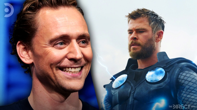 Tom Hiddleston and Thor
