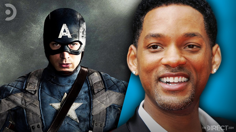 Captain America and Will Smith