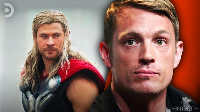Thor and Joel Kinnaman