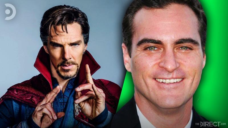 Doctor Strange and Joaquin Phoenix