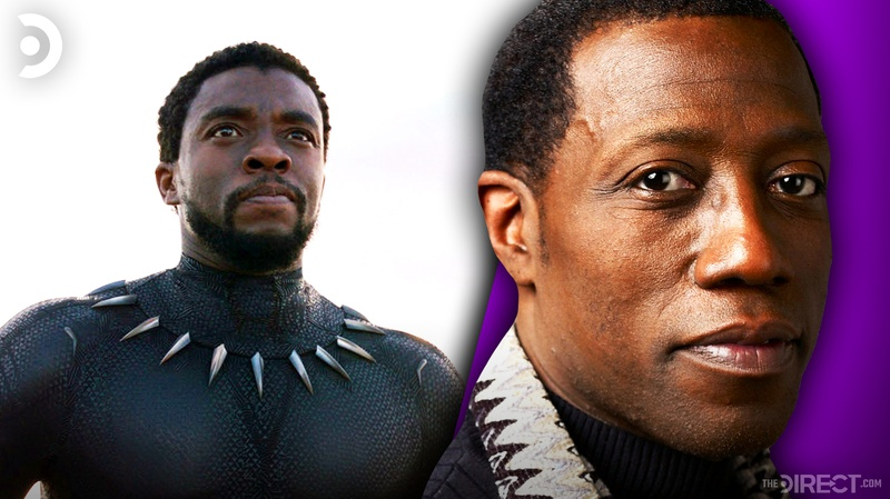 Black Panther and Wesley Snipes