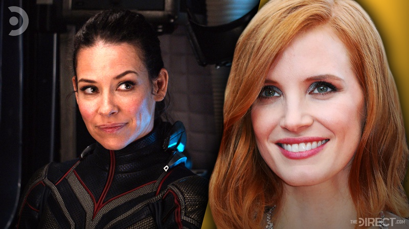 Wasp and Jessica Chastain
