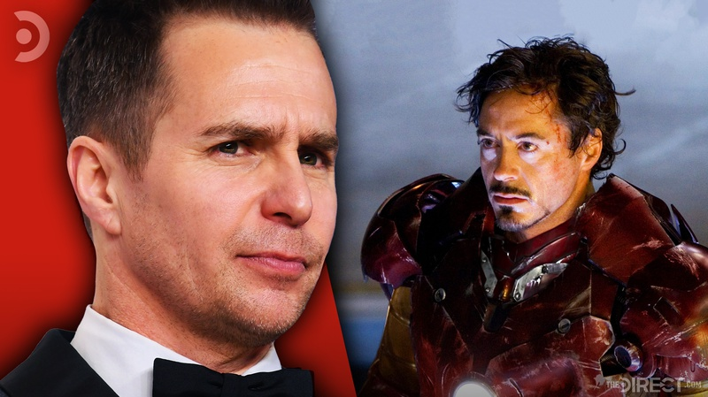Sam Rockwell and Iron Man