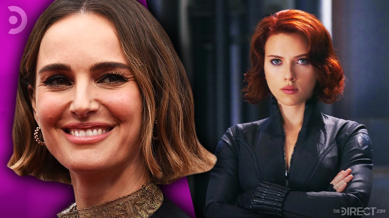 Natalie Portman and Black Widow