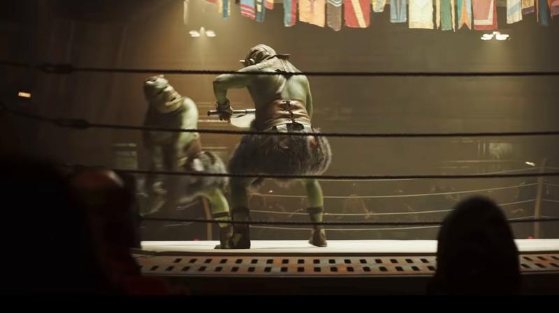 Gammoreans fighting