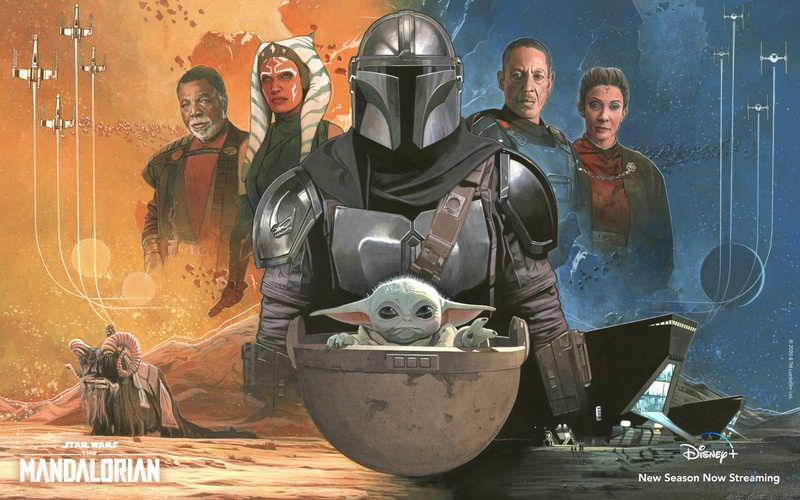 Mark Raats The Mandalorian poster