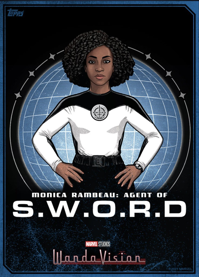 Monica Rambeau Agent of SWORD