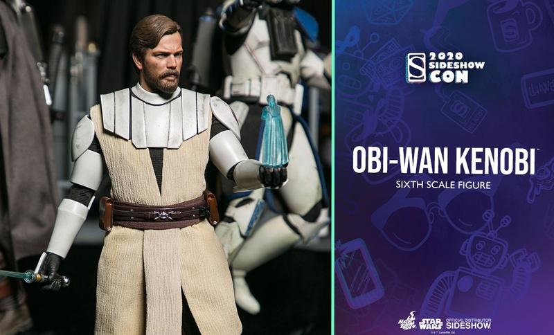 Obi-Wan Kenobi Hot Toys Figure