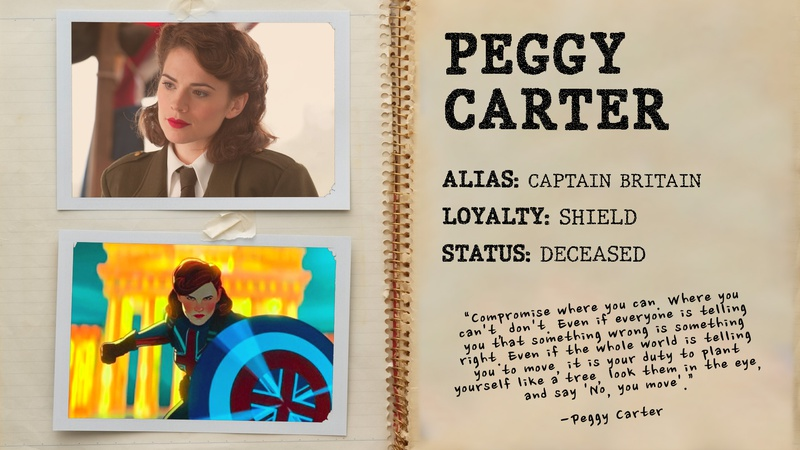 Peggy Carter, Captain Brittain