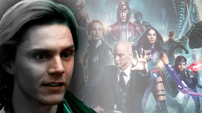 Evan Peters X-Men